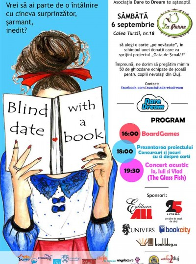 Dare to Dream - Afis Blind Date with a Book 2014